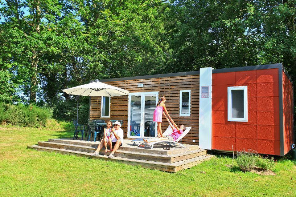 Location - Mobile Home Type Cottage 2 Chambres -1  Salle D'eau Avec Tv (Chaînes Françaises) - New Valley - Camping Castel Château de Galinée