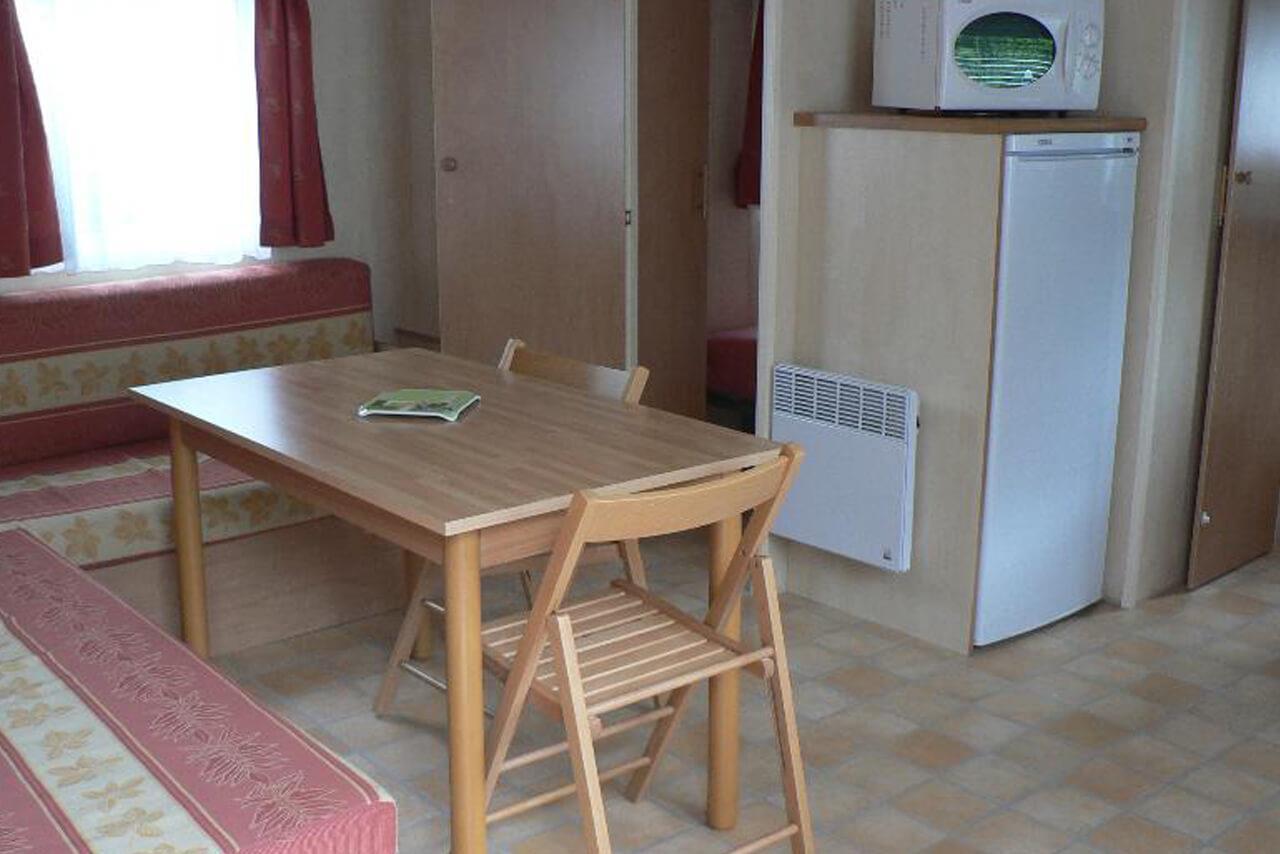 Location - Mhome Cottage Terrasse Dallée  Salle D'au Avec Tv Chaînes Françaises - Camping Castel Château de Galinée
