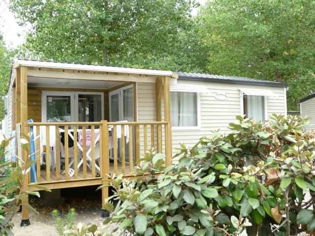Location - Mobil-Home Confort 22M² - 2 Chambres - Camping Le Rochelongue