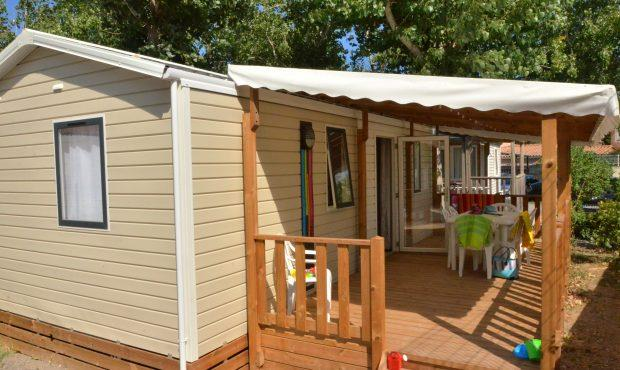 Location - Mobil-Home Confort 28M² - 2 Chambres - Camping Le Rochelongue