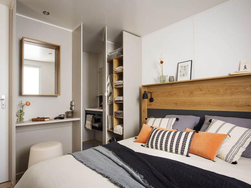 Location - Mobil Home Premium Plus 32M² - 2 Chambres - 2 Salles De Bain Zone Ensoleillee Et Pietonne - Camping Le Rochelongue