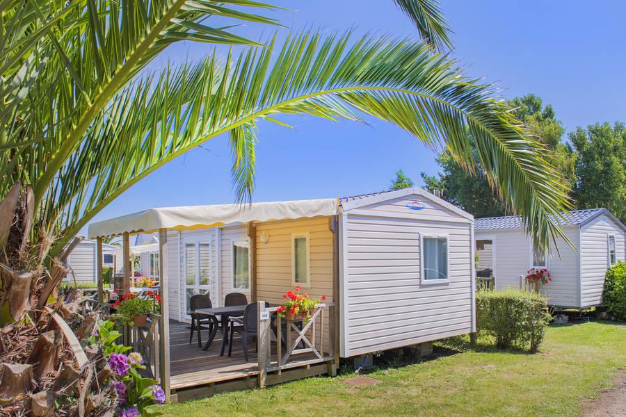 Location - Mobil Home - Etrille - RCN Vakantiepark Port l'Épine