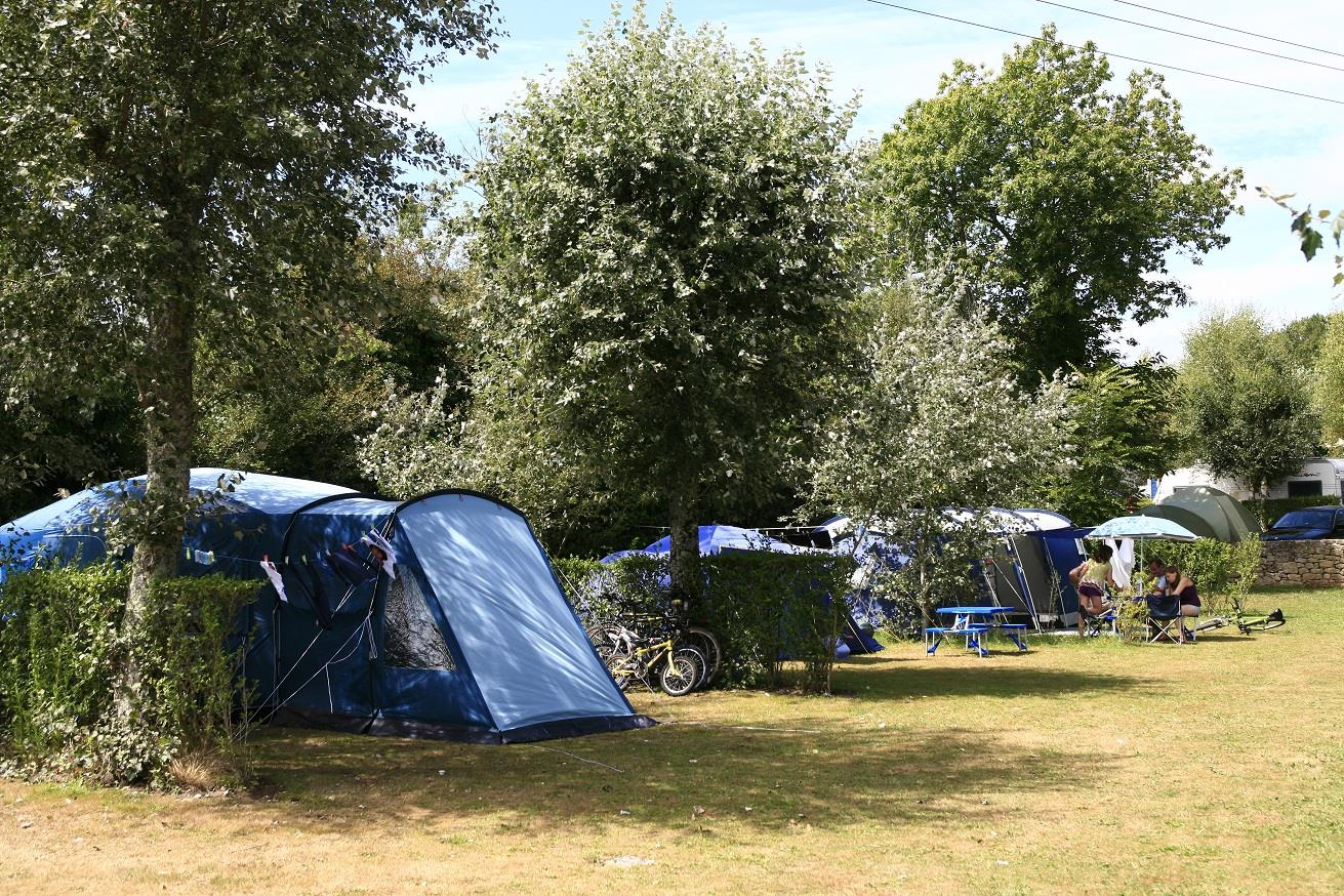 Emplacement - Emplacement Nu - Camping Kervilor