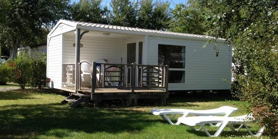 Location - Mobil-Home Adriatique - 2 Chambres - Camping Les Iles