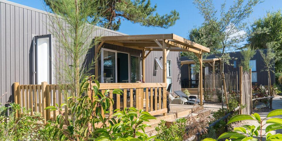 Location - Mobil-Home Mediterranee - 3 Chambres - Camping Les Iles