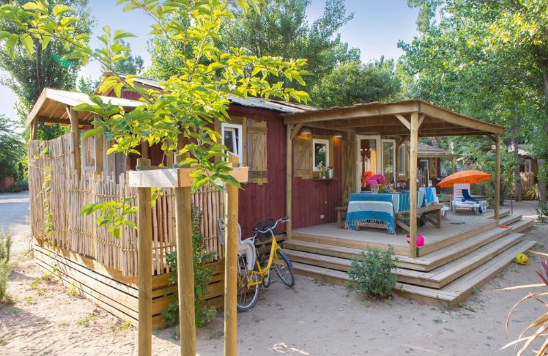 Location - Cabane Jardin 3 Chambres Premium Climatisée - Yelloh! Village Le Sérignan Plage