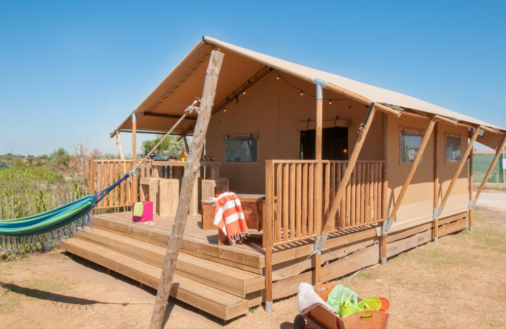 Location - Tente Séoune 2 Chambres ** - Yelloh! Village Le Sérignan Plage
