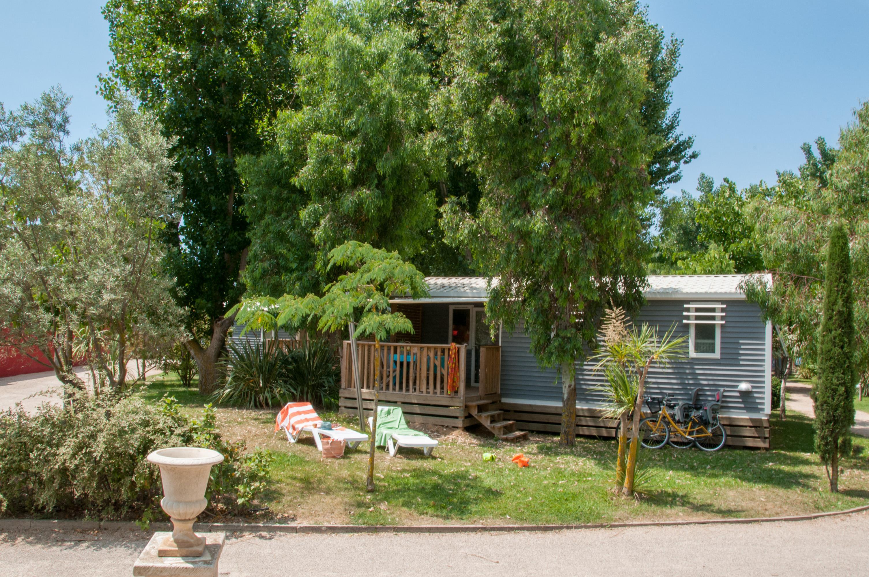 Location - Cottage Balnéo Spécifique 2 Chambres ***** Climatisé - Yelloh! Village Le Sérignan Plage