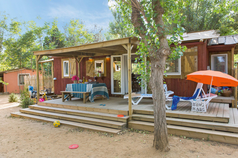 Location - Cabane Jardin 2 Chambres Premium Climatisée - Yelloh! Village Le Sérignan Plage