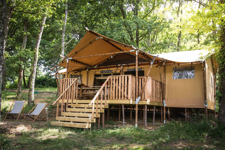 Location - Glamping Dreamlodge - Tente De Luxe - 3 Chambres - Zone Sans Voitures - - Camping Domaine Lacs de Gascogne