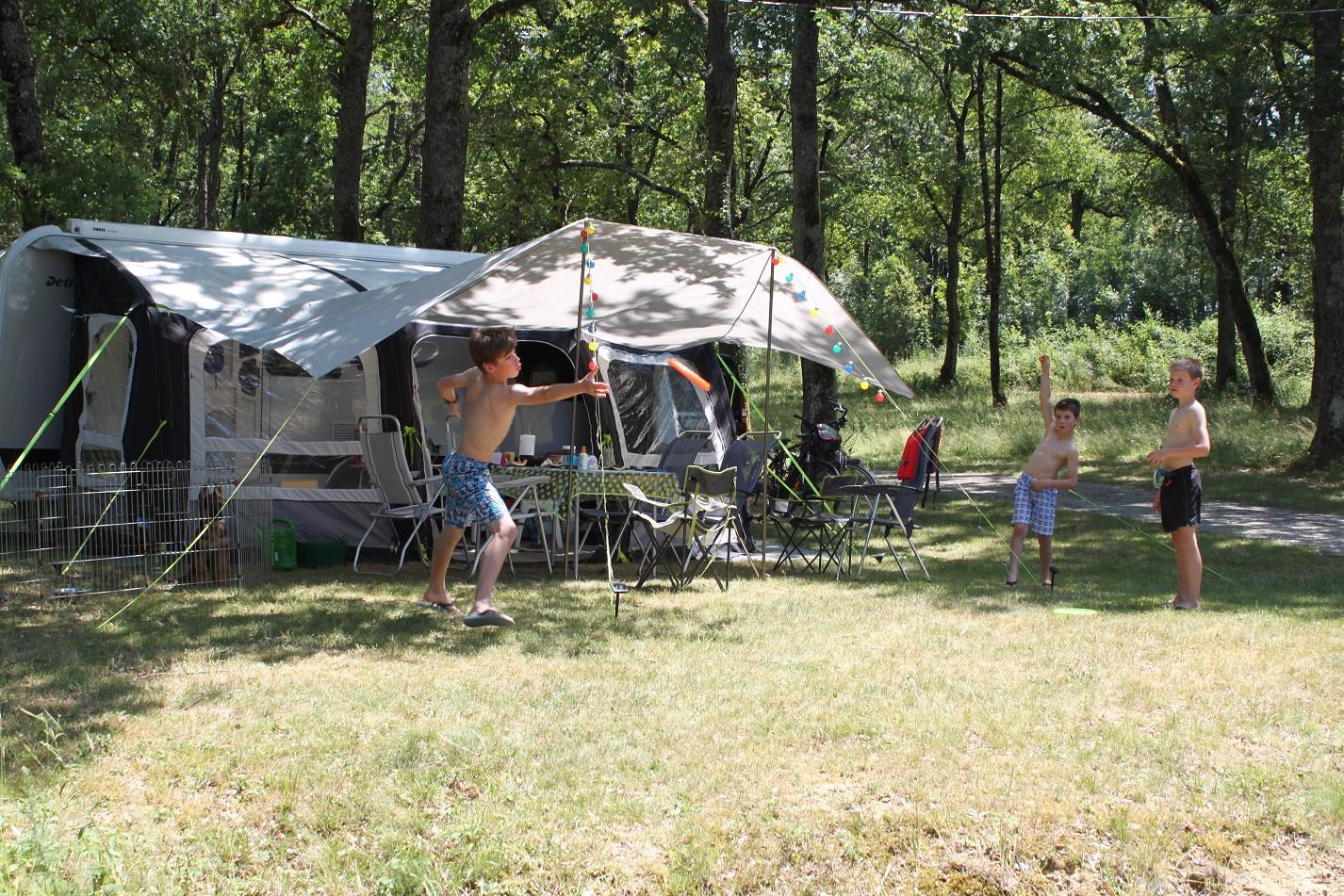 Emplacement - Emplacement Classique: Tente/Caravane/Camping-Car - - Camping Domaine Lacs de Gascogne