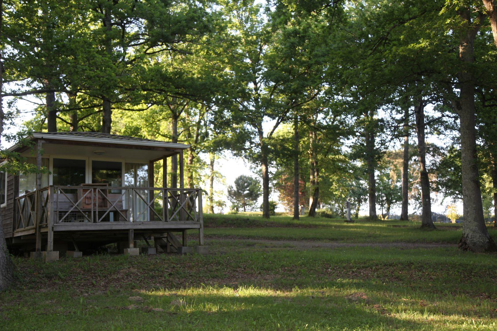 Location - Cottage Du Lac Confort - 2 Chambres - - Camping Domaine Lacs de Gascogne