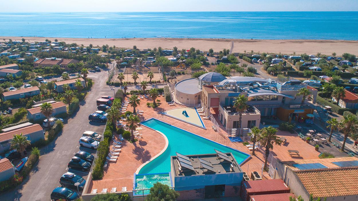 Camping les Ayguades, Gruissan, Aude