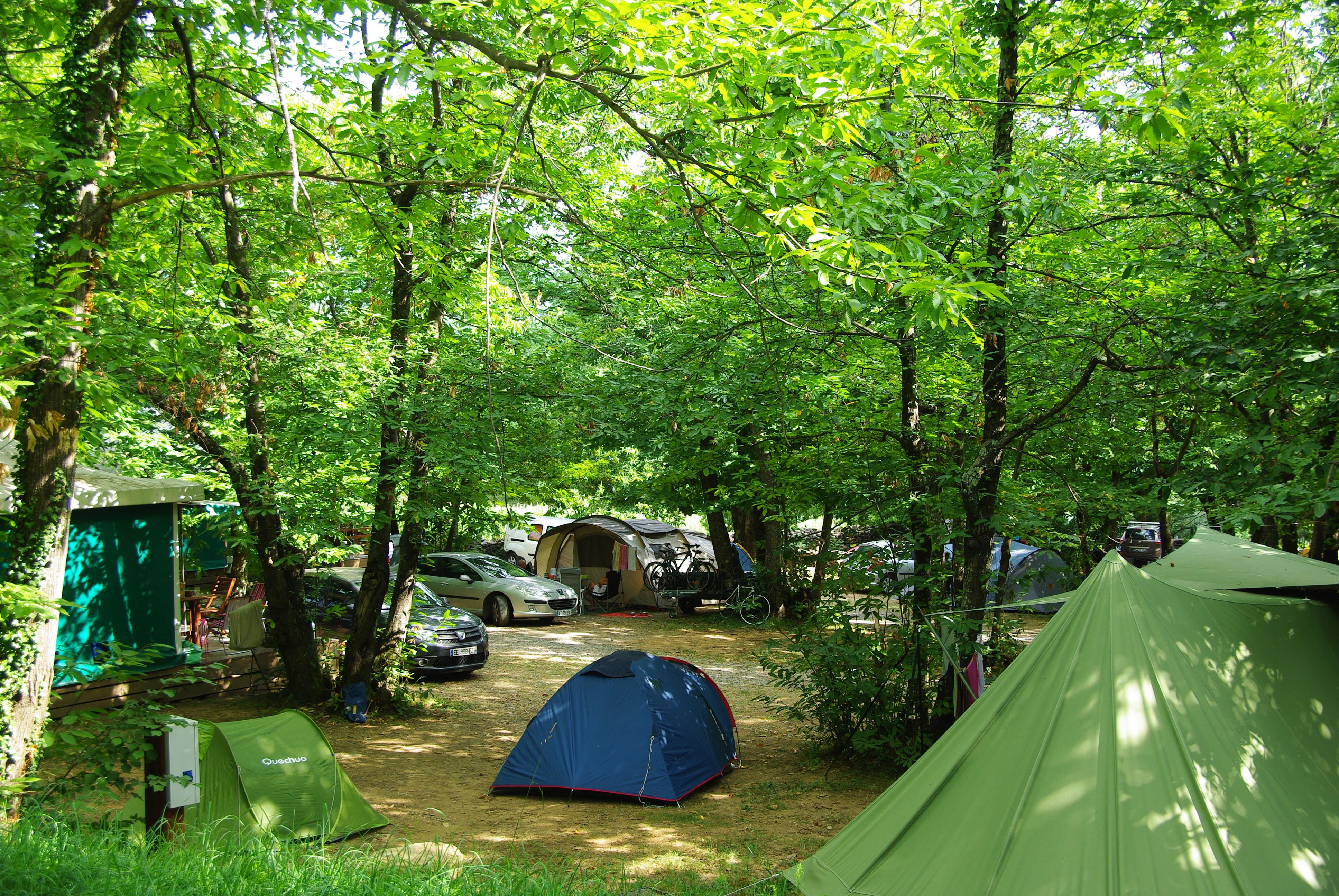 Camping la Châtaigneraie, Gravières, Ardèche