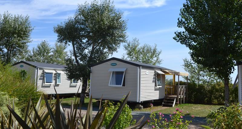 Location - Mobil Home - 2 Chambres - Camping La Grande Vallée