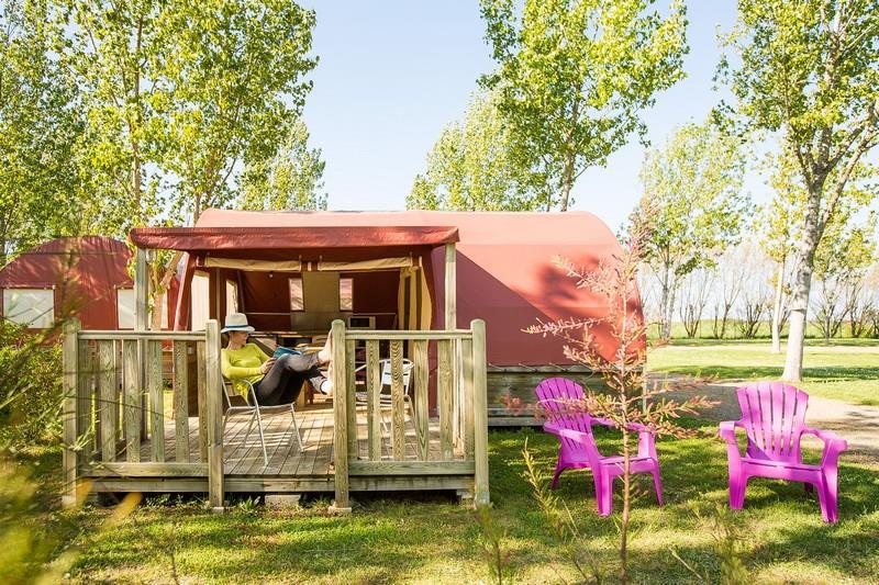 Location - Bungalow Oba 2 Chambres - Camping La Grande Vallée