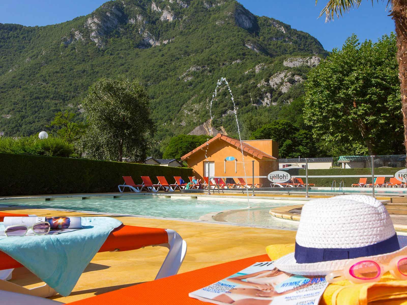 Camping le Pré Lombard, Tarascon-sur-Ariège, Ariège