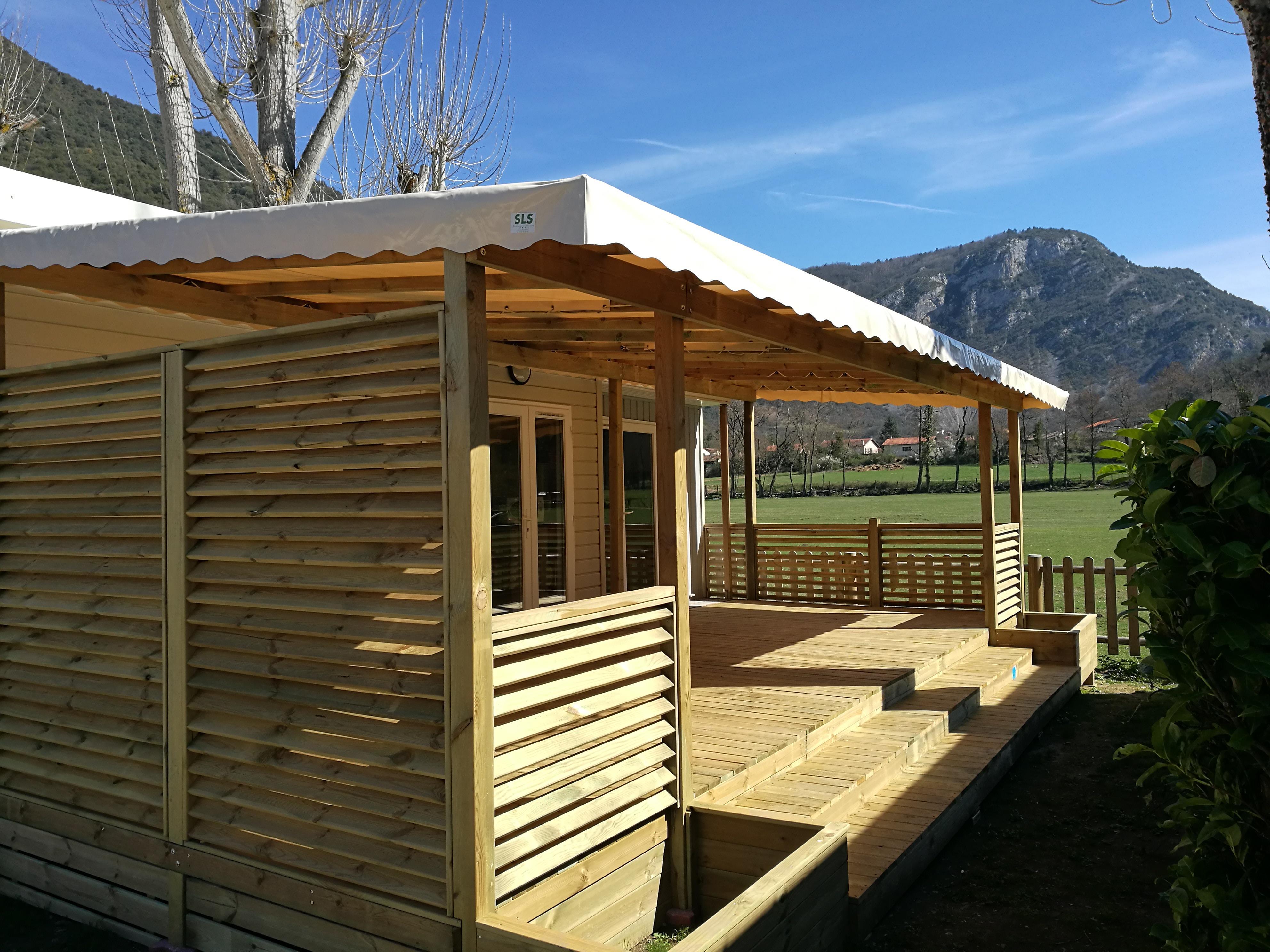 Location - Cottage Déclik 28M² (2 Chambres)**** - Yelloh! Village Le Pré Lombard