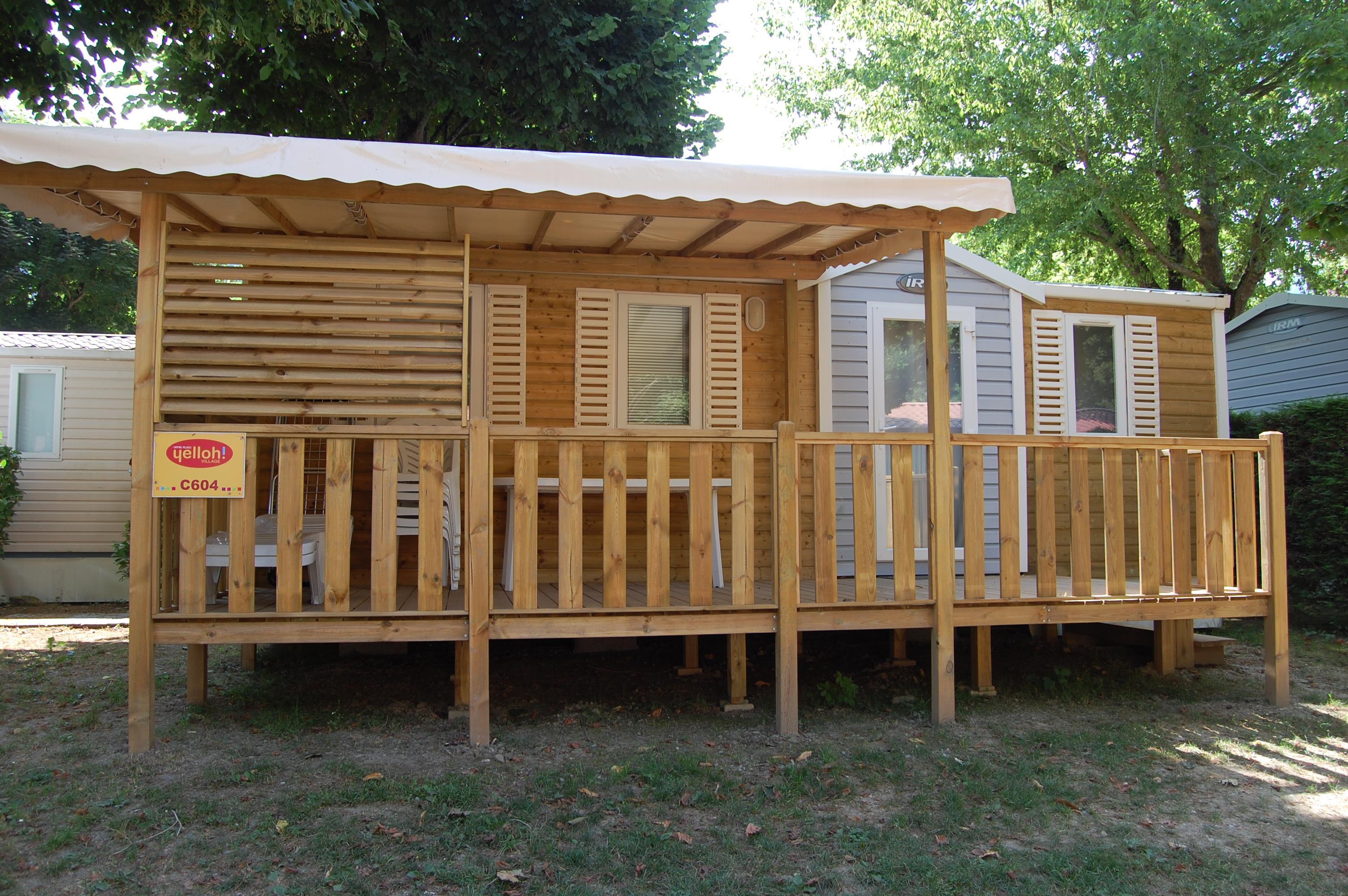 Location - Cottage Rivière 30M2 (3 Chambres)*** - Yelloh! Village Le Pré Lombard