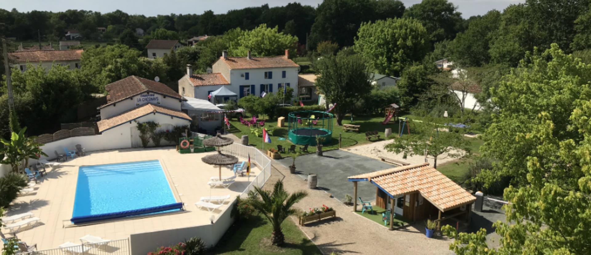 Camping la Chesnays, Vendays-Montalivet, Gironde