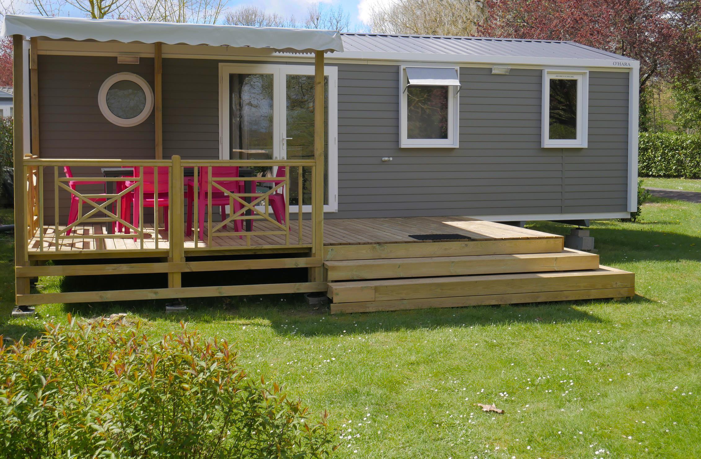 Location - Cottage 3 Chambres Summer Tv + Clim **** - Yelloh! Village La Roche Posay