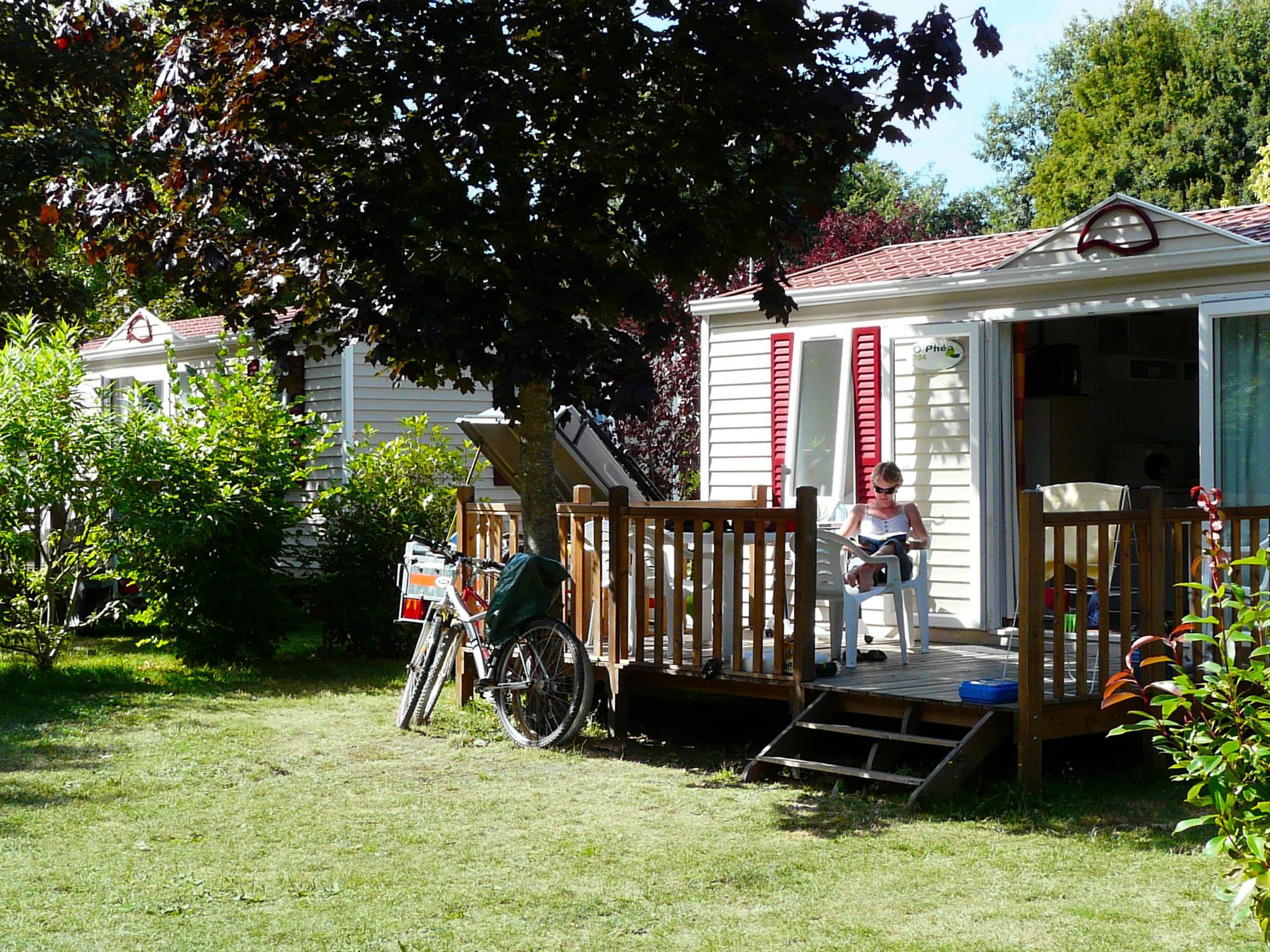Location - Cottage 2 Chambres Origin Tv *** - Yelloh! Village La Roche Posay