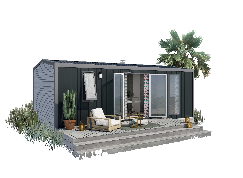 Location - Cottage 2 Chambres Summer Tv + Clim **** - Yelloh! Village La Roche Posay