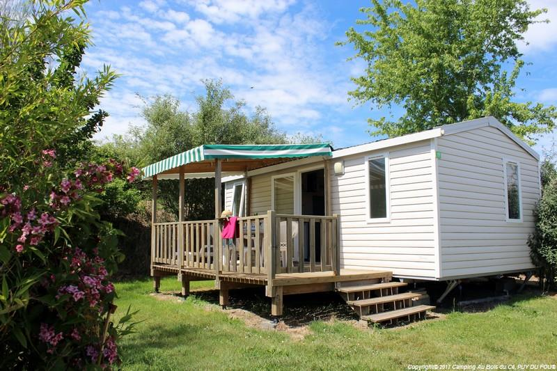 PLATANE. Mobil Home 5 pers. 25 m²