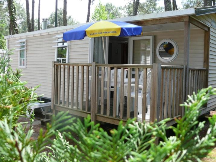 MH ( - 8 ans) Gamme Bien-être 2 chambres 2-5 pers. 26 m² (3 lits dans la chambre enfants)-1