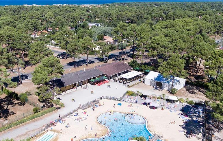 Camping Campéole Médoc Plage, Vendays-Montalivet, Gironde