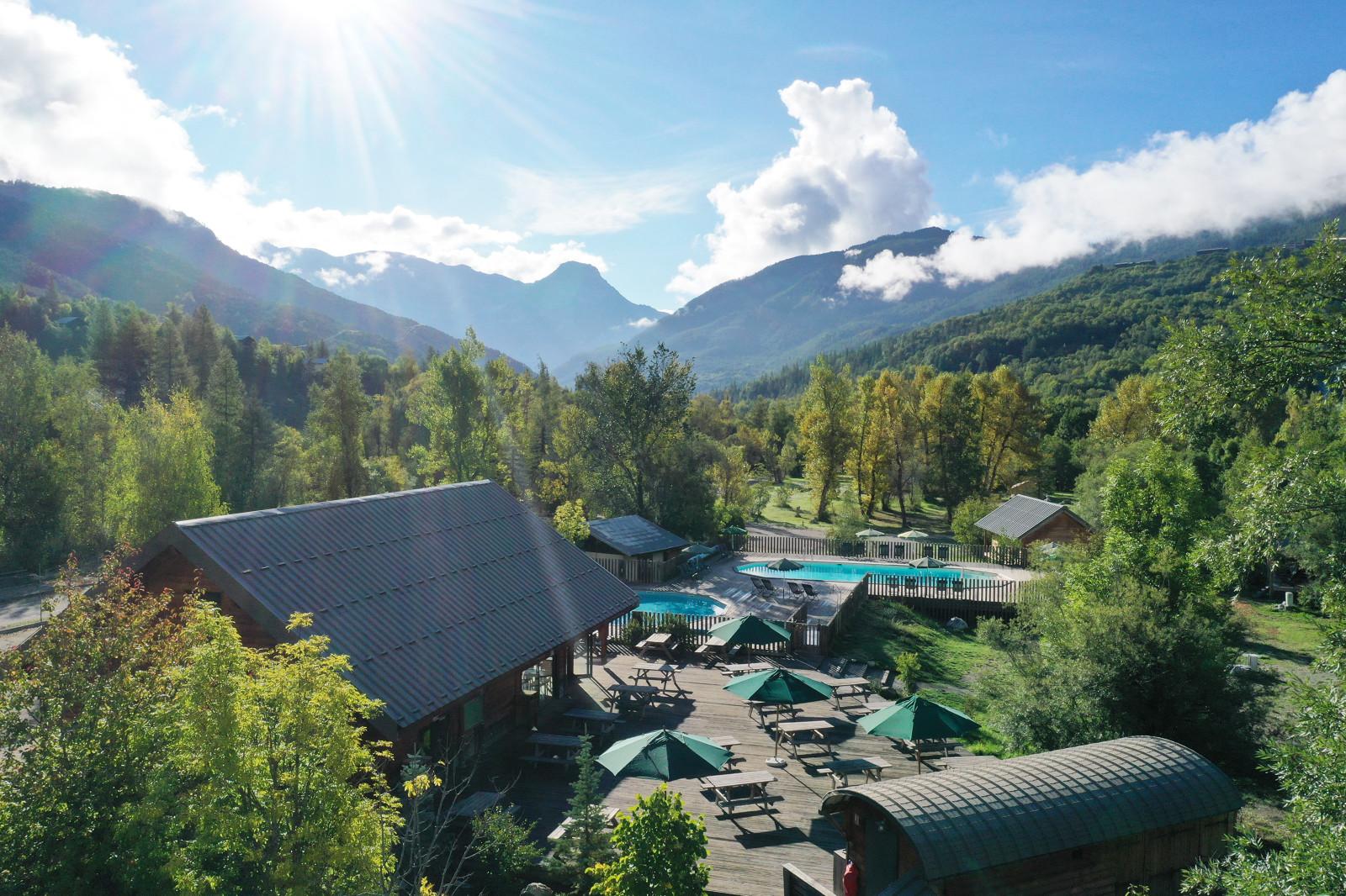 Camping Huttopia Vallouise, Vallouise, Hautes-Alpes