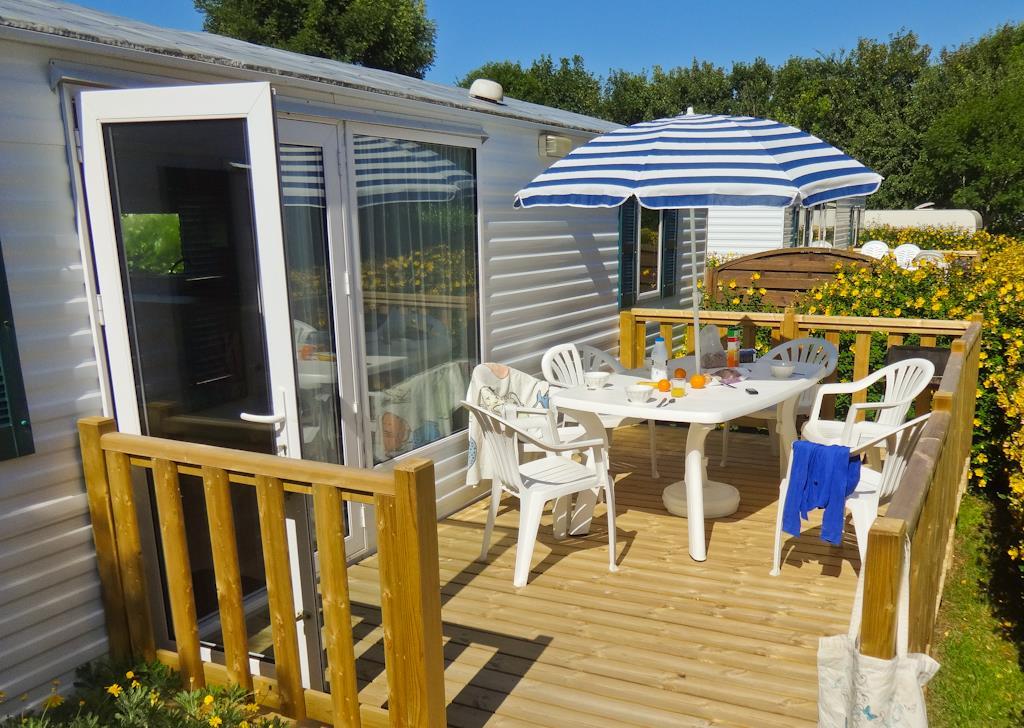Location - Mobil Home 30M² - 2 Chambres - Camping Sites et Paysages du Pouldu