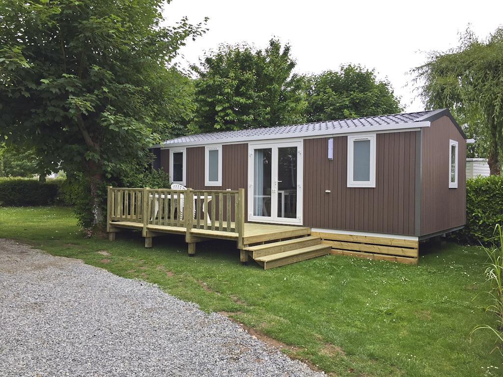 Location - Mobil Home 32M² - 3 Chambres 6 Pers. - Camping Sites et Paysages du Pouldu