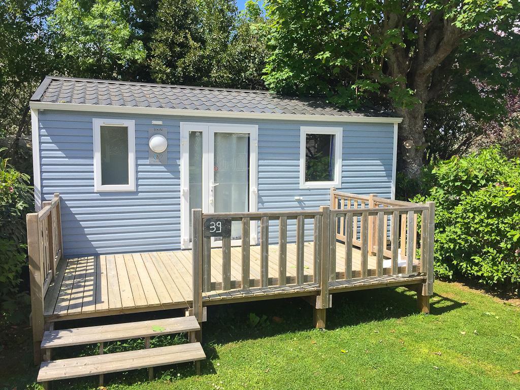 Location - Mobil Home Bikini 21M² - 1 1/2 Chambre - Camping Sites et Paysages du Pouldu