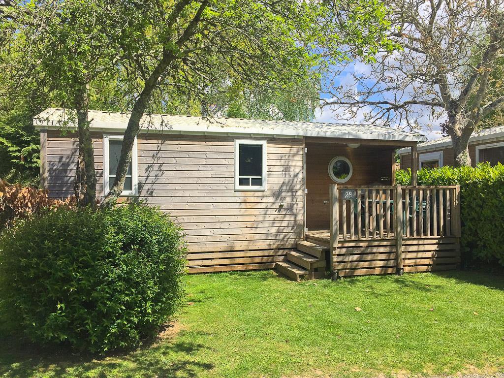 Location - Mobil Home Confort 25M² - Camping Sites et Paysages du Pouldu