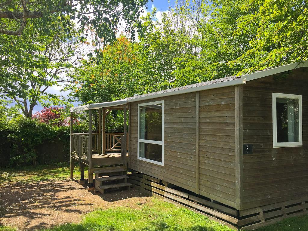 Location - Mobil Home Tribu 25M² - 2 Chambres 5/7 Pers. - Camping Sites et Paysages du Pouldu