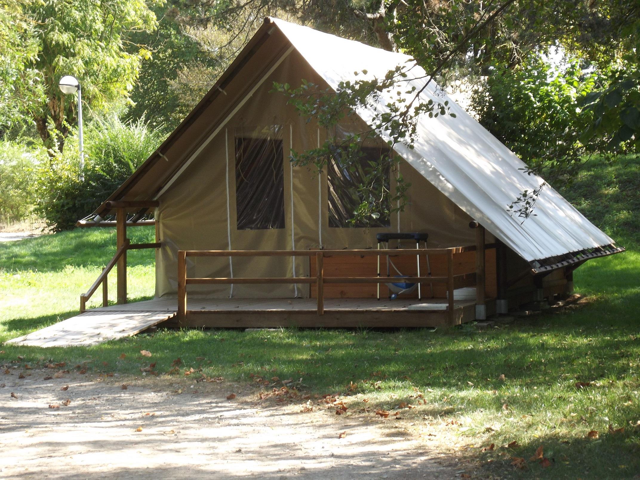 Location - Tente Toile Et Bois - Camping Nid du Parc