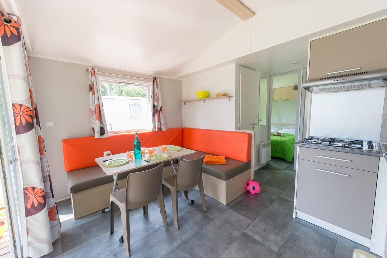 Mobil-home 33TP 25m² 2 chambres