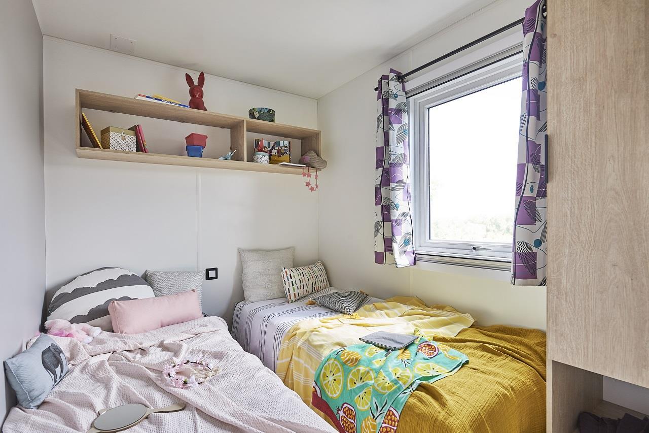 Mobil-home Luxe Lo77 30m² 2 chambres 1 Salle de bain