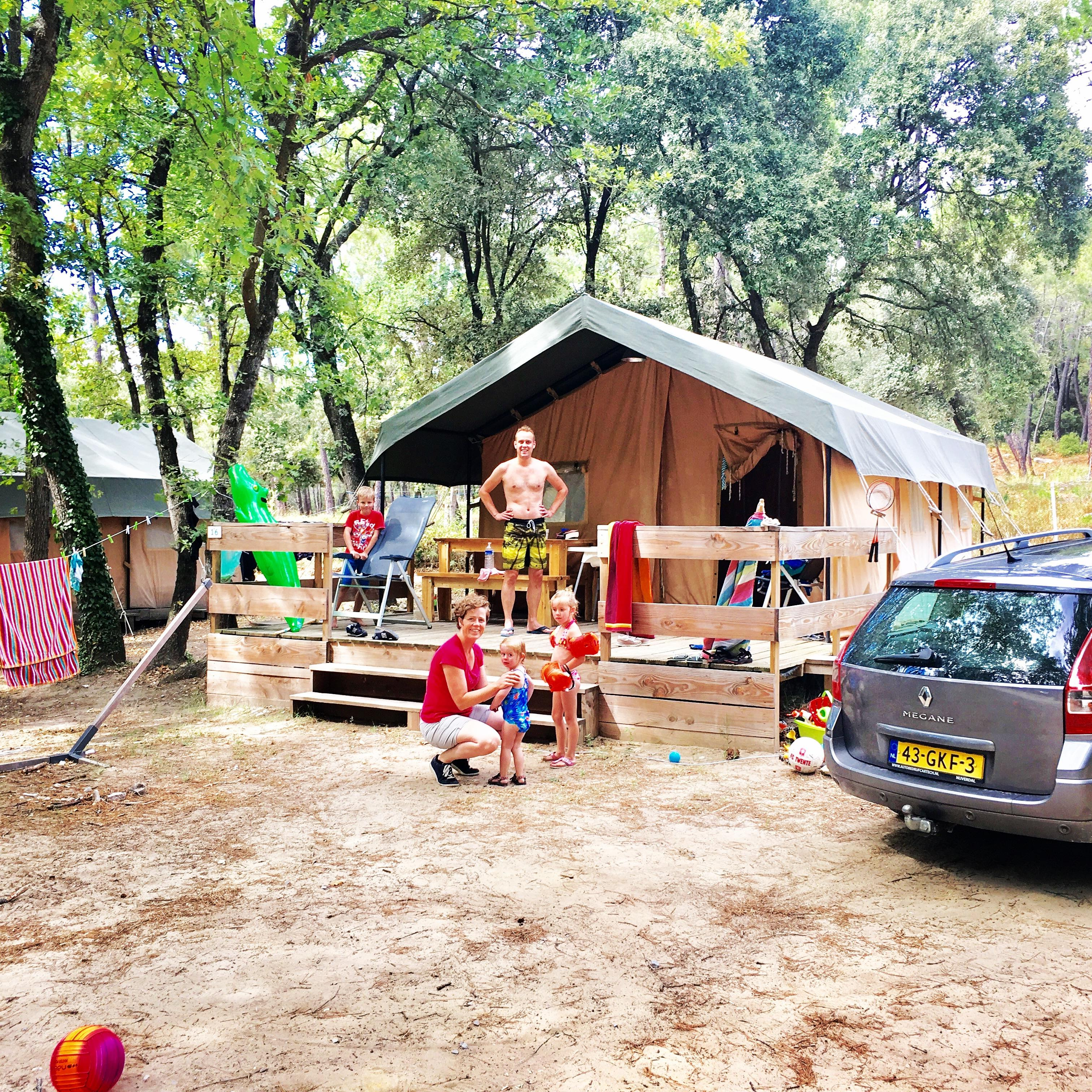 Location - Safari Lodge L - 2 Chambres (4 Adultes Maximum Et 1 Enfant) - Camping La Simioune