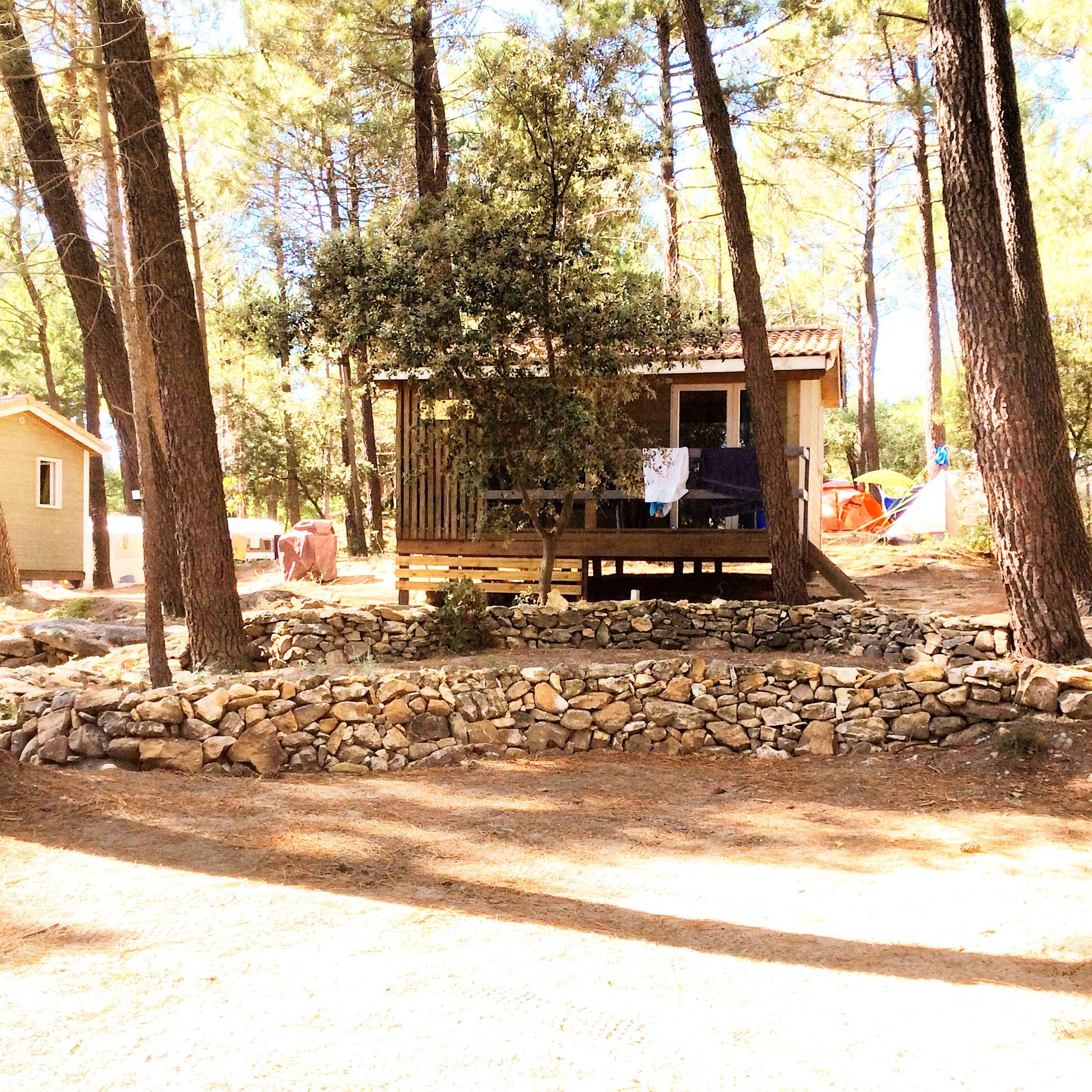 Location - Chalet Lavande - 2 Chambres (2 Adultes Maximum Et 3 Enfants) - Petit Budget - Camping La Simioune