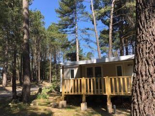 Location - Mobilhome Coquelicot Climatisé- 3 Chambres Climatisé -6 Personnes (4 Adultes Max+2 Enfants)(Récent, Moins De 5 Ans) - Camping La Simioune