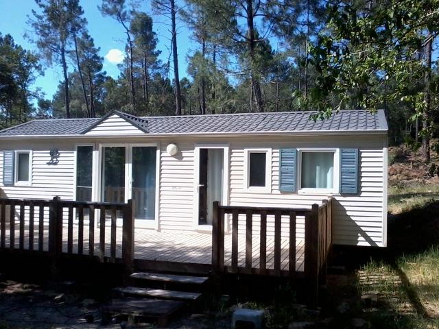 Location - Mobilhome Tournesol Climatisé+Confort - 3 Chambres -6 Personnes (4 Adulte Max+2 Enfants) - Camping La Simioune