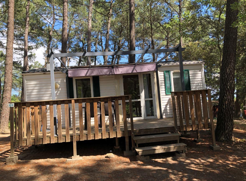 Location - Mobilhome Cigale - 2 Chambres Petit Budget - Camping La Simioune