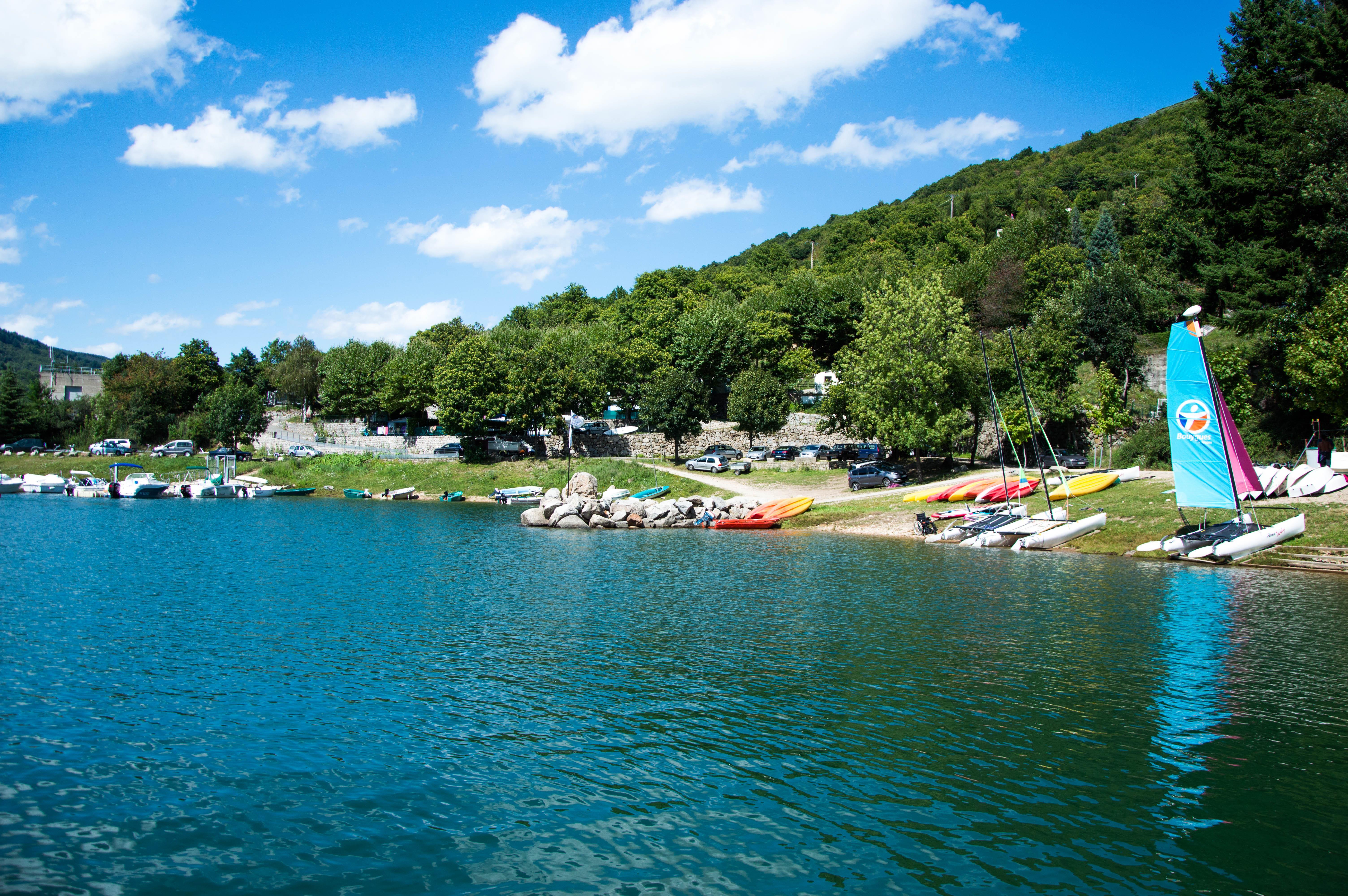 Camping du Lac, Villefort, Lozère