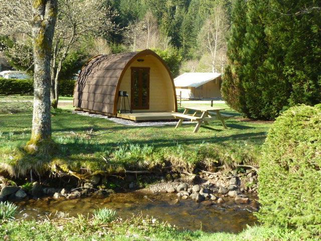 Location - Eco Cabane Eco-Pod 6M² + Terrasse - Sans Sanitaires  - 2015 - Flower Camping Verte Vallee