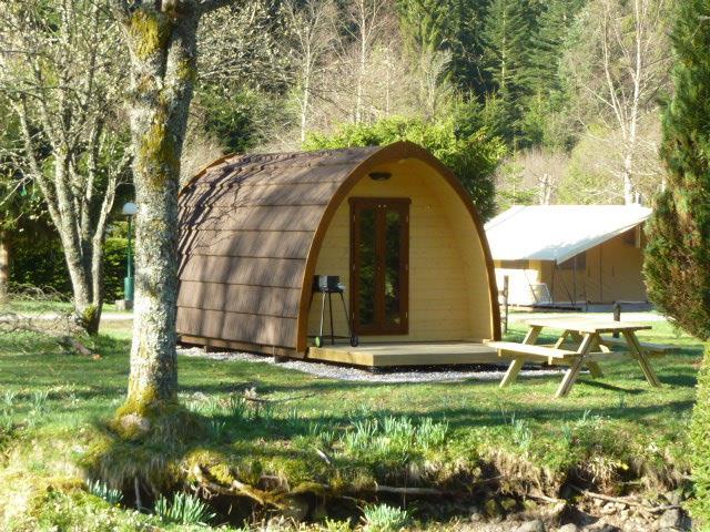 Location - Eco Cabane Eco-Pod Family 13 M² + Terrasse - Sans Sanitaires - 2015 - Flower Camping Verte Vallee