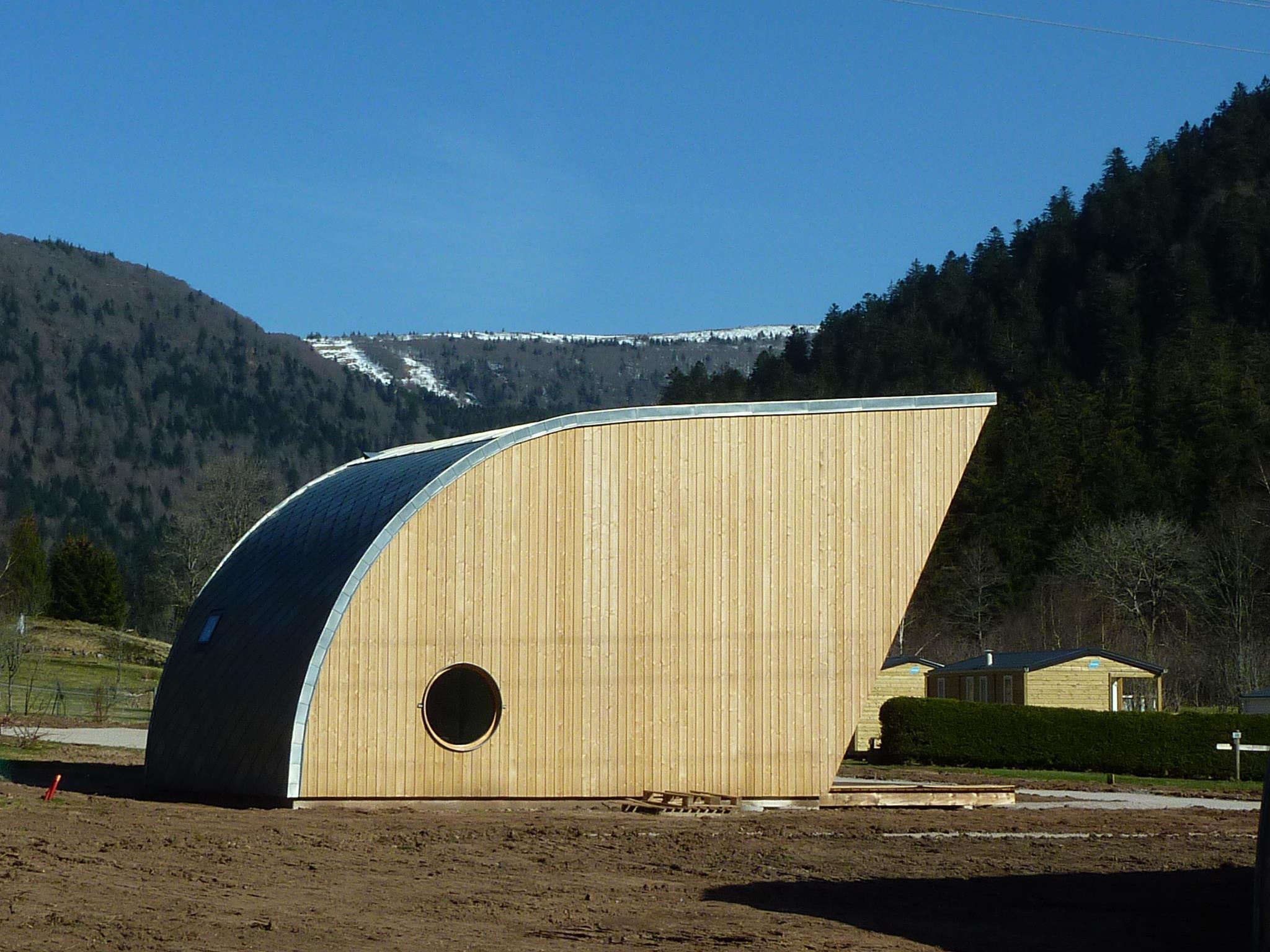 Location - Premium Chalet Eco-Lodge Bi Famille 42M² X 2 + Terrasse - 2015 - Flower Camping Verte Vallee