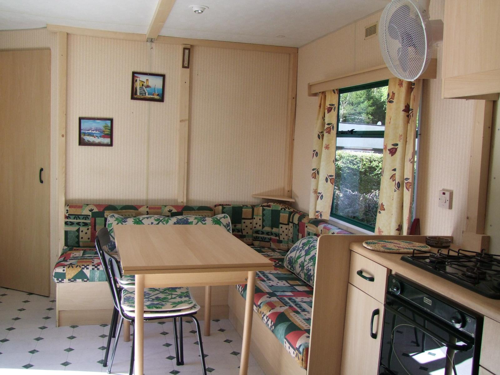 Location - Eco-Caravane 25M² (2 Chambres) + Terrasse - Sans Sanitaires - 1999 - Flower Camping Verte Vallee
