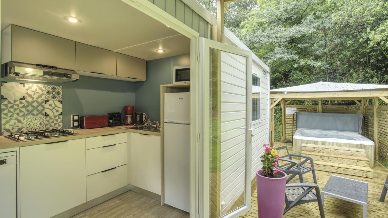 Location - Cottage Atlantique 3 Chambres + 2 Salles De Bain 40M² + Spa - Nantes Camping